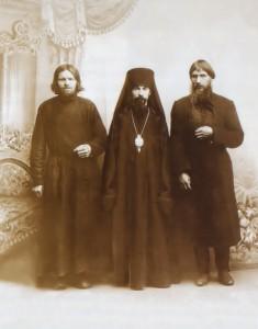Старец Макарий, архимандрит Феофан и Григорий Распутин