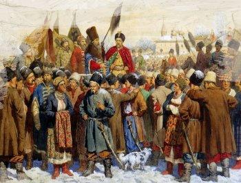 Русские цари осваивали украинские земли